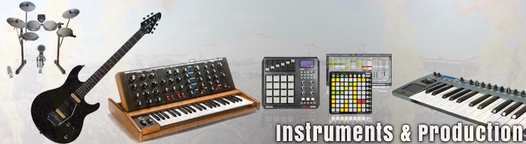 Instruments, Production Equipment and Accessories available at GearclubDirect in Chicago